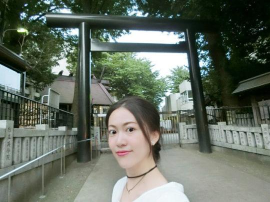 日本で唯一の気象神社