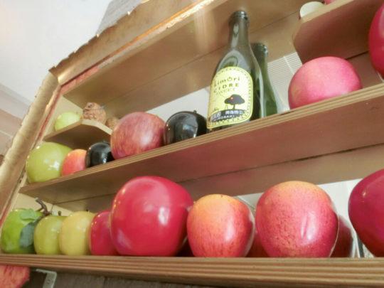 りんごカフェでお祝い