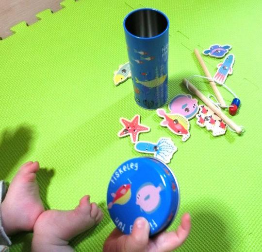 親子で遊ぶマイホームフィッシング
